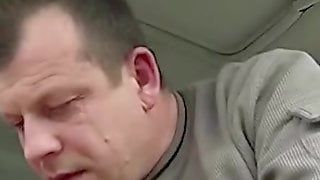 Amateur Sex In A Car With A Taxi Driver