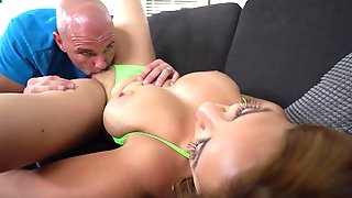 Bald Dude Shows Busty Mature The Fuck Of Her Life