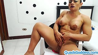 Extraordinary Squirt With Very Pumped Up Latin Babe
