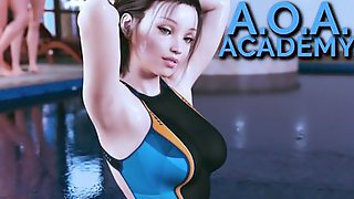 Gameplay Of A Realistic Adult 3D Sex Game With Hot Babes