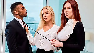 Maitland Ward And Kayden Kross Are Fucking With A Black Lover