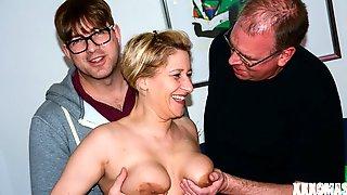 Nadine U. Gets Her German Pussy Boned
