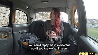 Fake Taxi Cindy Shine Pays For Cleaning Bill With Her Cunt