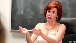 Hottest-looking Babes Getting Their Holes Nailed By The Blackboard