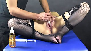 Love Button Brush Edging Game-Post Climax Punishment