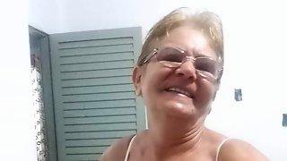 Masturbating Granny Olys