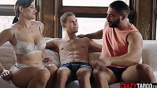 Naive Guy Tried A Hardcore Threesome Sex