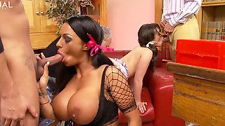 Appealing Latina Sluts Share And Swap Partners In Dirty Kink