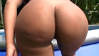 Hot Poolside Group Sex With Some Sexy Candy Brazilian Sirens