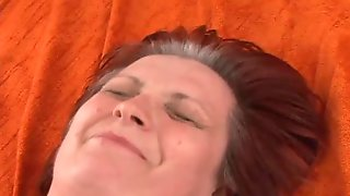 Nasty Fat Grandma Gets Banged Hard And Moans Like Never Before