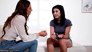 MommysGirl Kylie Rocket Goes Immodest With Stepmom Silvia Saige
