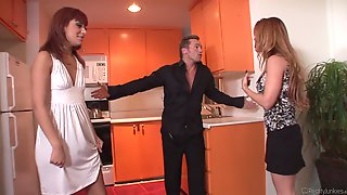 Double Facial After Threesome With Andrianna Angel And Janet Mason