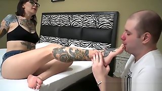 Feet For Tongue 4. Domination