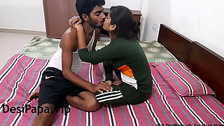 Indian College Girl Making Love With Her Boyfriend
