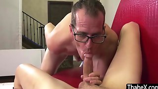 Lily Demure - Glamorous Ts Model Takes A Bigcock In Her Mouth And Ass