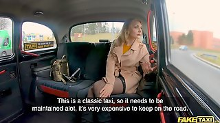 Fake Taxi Caty Kiss Uses Her Hawt Selfies On Her Phone To Pay For Taxi