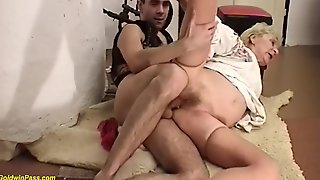 86 Years Old Grandma Rough Fucked By A Ugly Cock