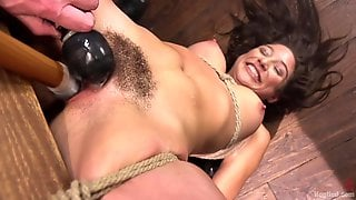 In A Hardcore Pleasure Session With Toys - Abella Danger