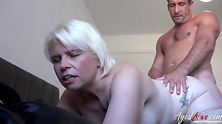 AGEDLOVE Hardcore Sex Content Featuring Licking And Drilling - Rough Sex