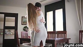 Joymii- Charming Wife Overspread In Sperm For Anniversary