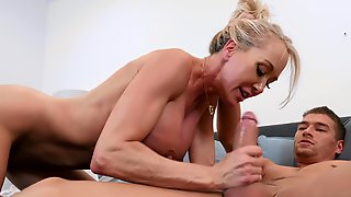 Mature Loves A Young Cock To Show Her Magic Again