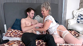 Grandmother Next Door Is A Cheating Whore