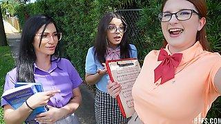 Bess Breast, Ella Cruz And Jasmine Vega Are Getting Pleasure