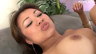Asian Lady Addicted To Sex Fucks A Black Monster For The First Time