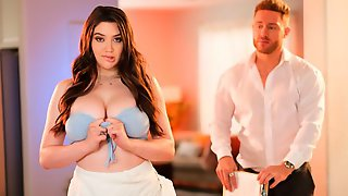 Sensual Big-boobed Brunette Alyx Star Rides On A Long Penis