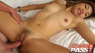 Petite Thai Nok Tight Cunt Fucking Sex Scene