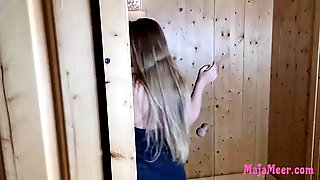 Chubby Blonde Teen With Big, Natural Tits, Maja Meer Likes T Get Fucked In The Sauna