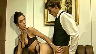 Horny Secretary Upscaled To 4k With Laura Lenz