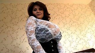 Milf Big Titty Lace Skirt-1080p - Milena Velba And Huge Boobs