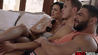 Naive Guy Tried A Hardcore Threesome Sex With Big Tits MILF Penny Barber
