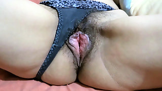 My Sister-in-law And Our Maid Show Their Hairy Pussies