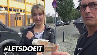 LETSDOEIT - Big Ass German Hoe Has Anal Sex In The Bus