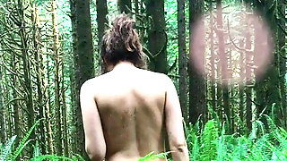 Nude Forest Walk