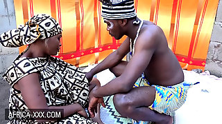 Dark-hued Woman Visits An Ejaculation Doctor