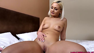 New First-timer Gal Vivienne Nouvelle Gets Dick For First Time Pt1