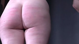 Purple Haired Whore Sierra Cirque Spanked Until Her Butt Gets Bloody