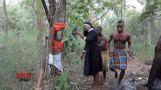 African Warriors Fuck Foreign Missionary (trailer)