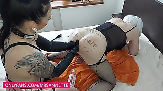 FEMALE DOMINATION HANDBALLING ASS FUCKING INSTRUCTING PEGGING DOMINATRIX SUPREMACY FEMBOY
