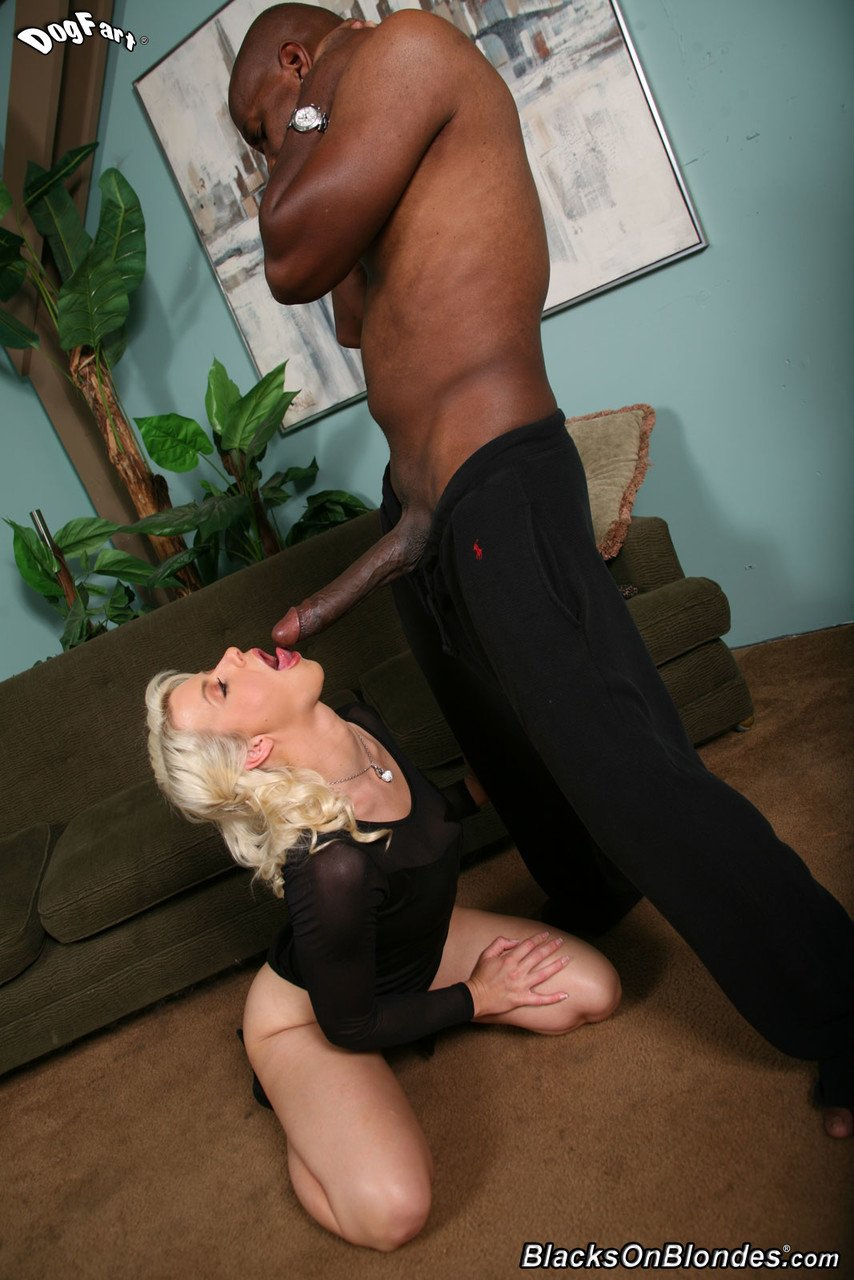 Blonde sweetie with incredible ass Anikka Albrite gets pounded by a black guy