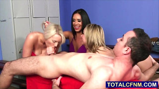 Sexy Teens Want to Practice Blowjob Technique
