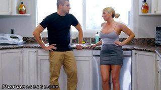Cheating on Wifey with Her MILF Momma! -NuruMassage