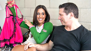Lyla Storm has a sugardaddy that can provide more than her husband