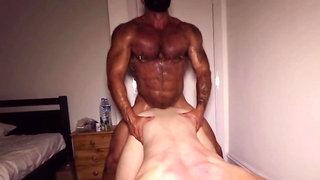 Bodybuilder Rogan Extended Rough Fucking