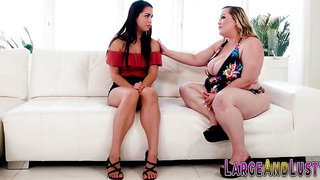 Babe tribbing fat lesbian