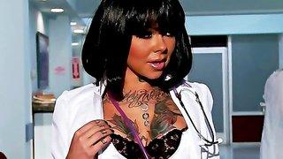 Johnny Sins nails tattooed nurse Julia Bond