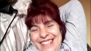 Horny MILF 47 years old Romanian sexy tits solo